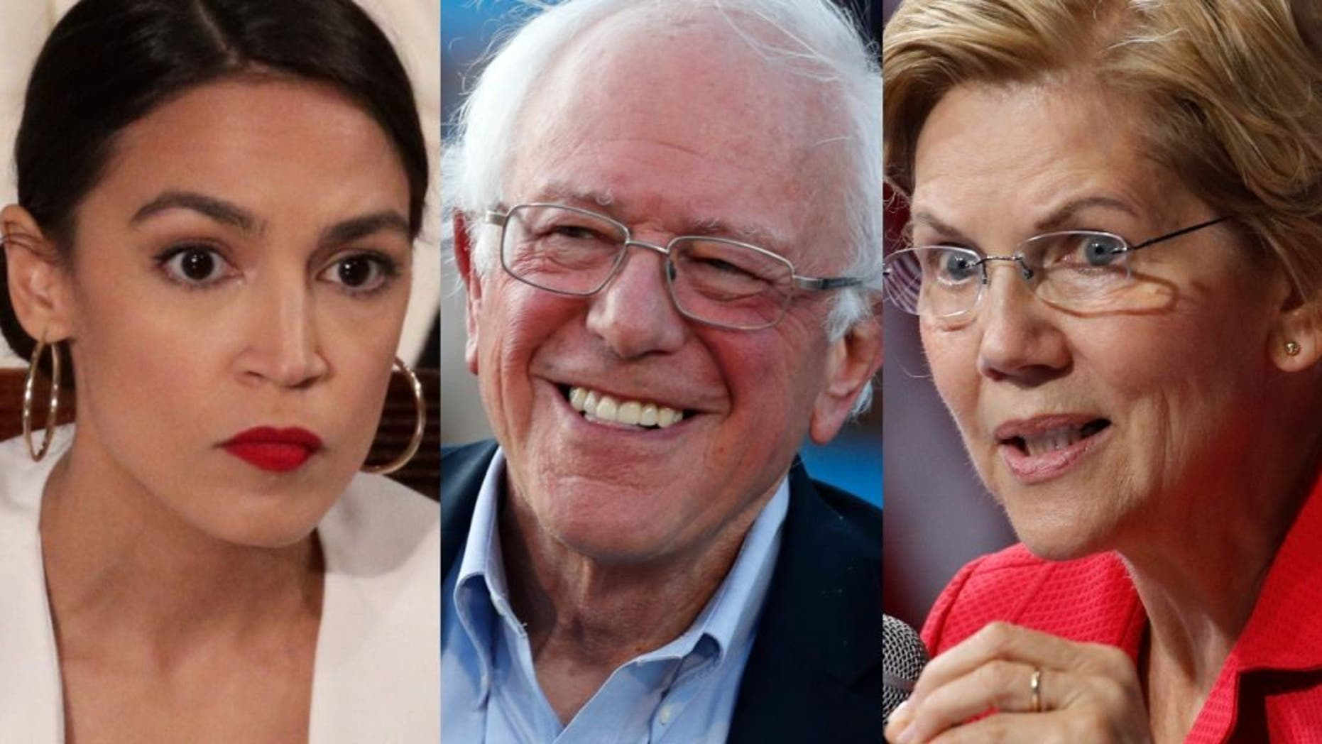 Westlake Legal Group AOCSandersWarren101619 Warren attacked from all sides at Dem debate; 'Squad' to back Sanders; Biden says focus on Trump fox-news/columns/fox-news-first fox news fnc/us fnc e3856332-3802-52e8-adf5-320053ff3889 article
