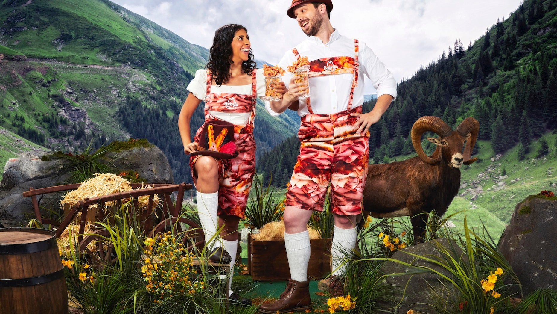 """Arby's announced in a press recover it would be releasing an """"exclusive line of Oktoberfest and Arby's themed items."""""""