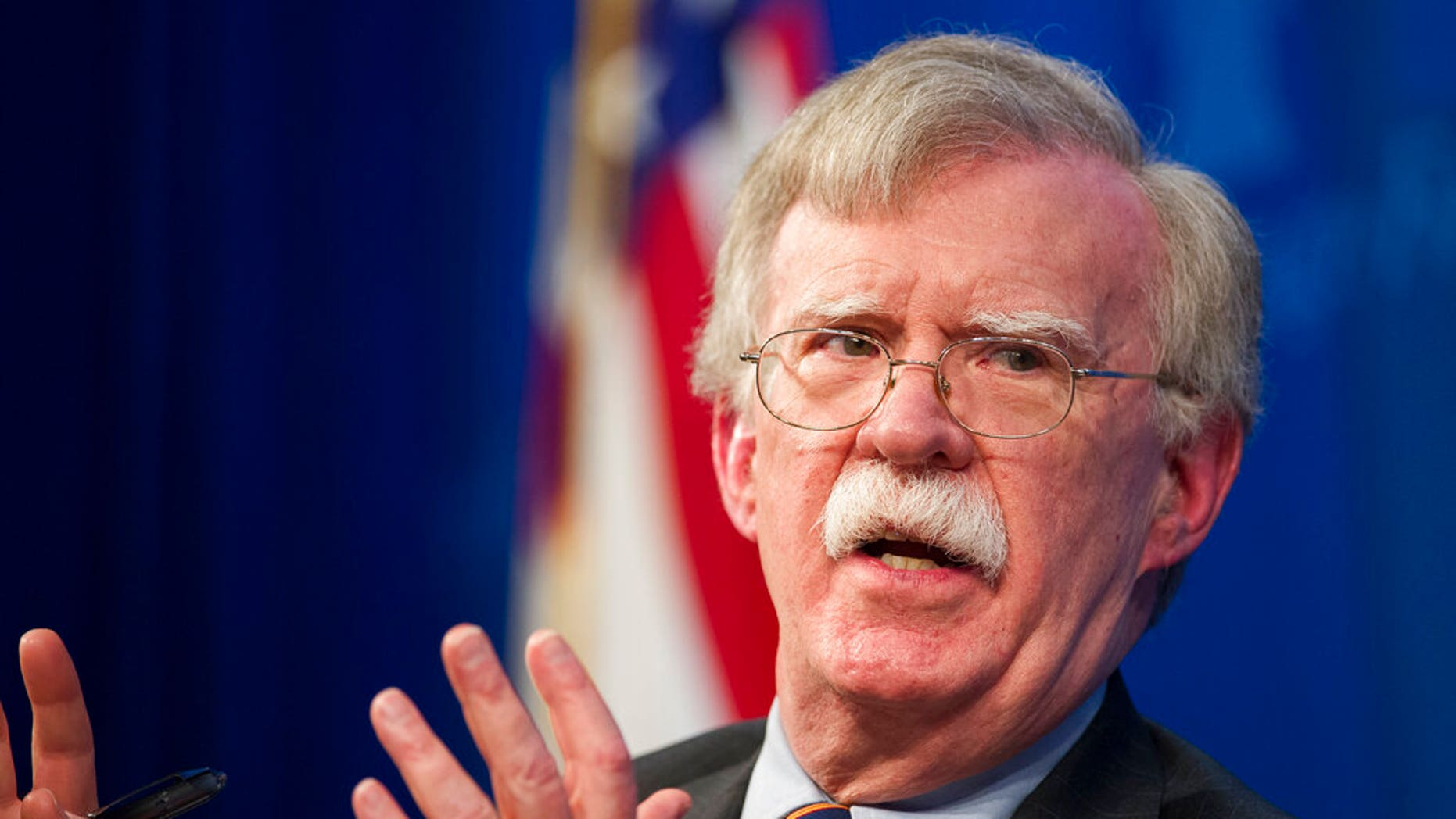 FILE - Former National Security Adviser John Bolton (AP Photo/Cliff Owen, File)