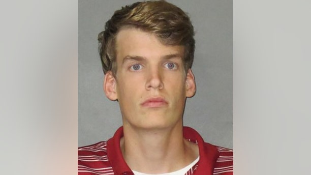 Connor Croll, 19, allegedly made a bomb threat to the LSU-Florida game to save his buddy from losing a bet.