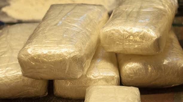 The package contained a total of 20 kilos of cocaine, potentially worth up to $600,000 on the street.