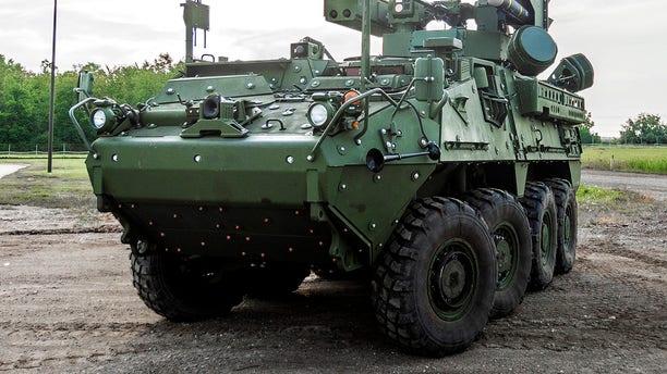 General Dynamics' Stryker A1 IM-SHORAD (General Dynamics)