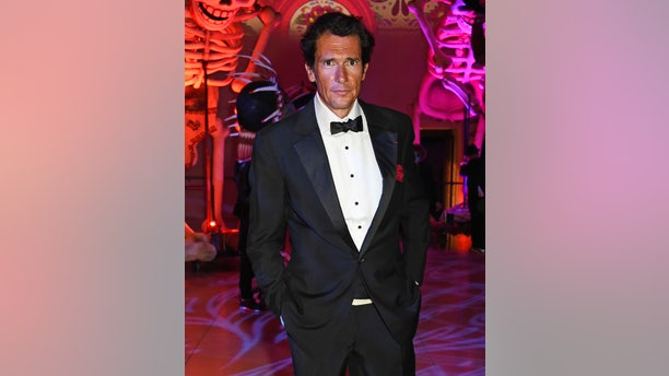"""Geoffrey Moore attends the World Premiere after party of """"Spectre"""" at The British Museum on Oct. 26, 2015, in London, England."""