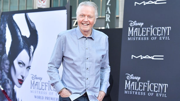 """Jon Voight freely talked politics while attending the World Premiere of Disney's """"Maleficent: Mistress Of Evil"""" at El Capitan Theatre on September 30, 2019 in Los Angeles, California."""