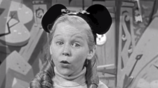 """Karen Pendleton starred in """"The Mickey Mouse Club"""" from 1955 until 1959."""
