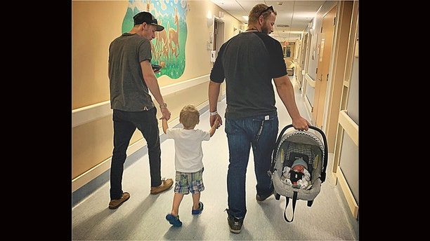 Two months ago, Madison Holley and fiancé Cody Pietz welcomed their first child, a baby boy named Waylon. The new mom, who shares son Cade, 3, with her former partner Tyler Mcilveen, quietly took a photo from behind as her toddler happily walked hand-in-hand with his father and Pietz.