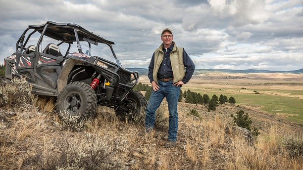 Marshall, pictured on his ranch in Burns, Ore., believes a cult is behind the bull deaths. He doesn't think the killings were done to financially harm the ranch. (David Zaitz/Silvies Valley Ranch via AP) File