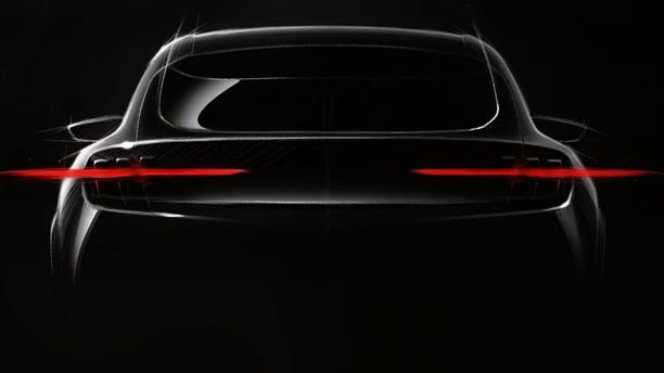 The only official image of the SUV is this teaser rendering released by Ford.