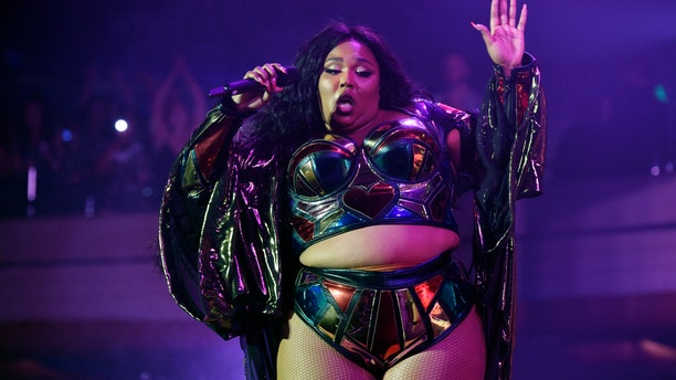 Musical artist Lizzo performs at The Hollywood Palladium, Friday, Oct. 18, 2019, in Los Angeles. (Photo by Chris Pizzello/Invision/AP)