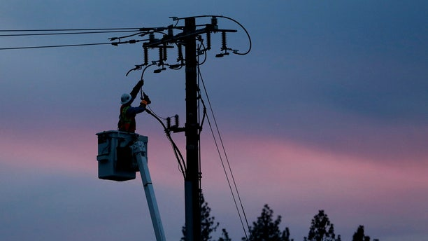 Pacific Gas & Electric said it could cut off power to a large swath of Northern California later this week to prevent its equipment from starting wildfires during hot, windy weather.