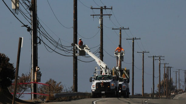 Southern California Edison said that more than 106,000 customers in parts of eight counties could face power cuts.
