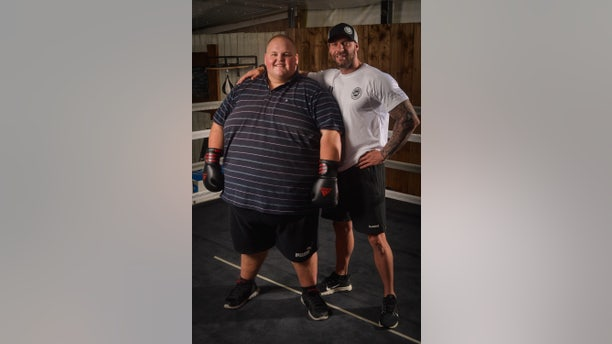 Dibsy, now 28, started his weight-loss journey with Mike Hind last October.