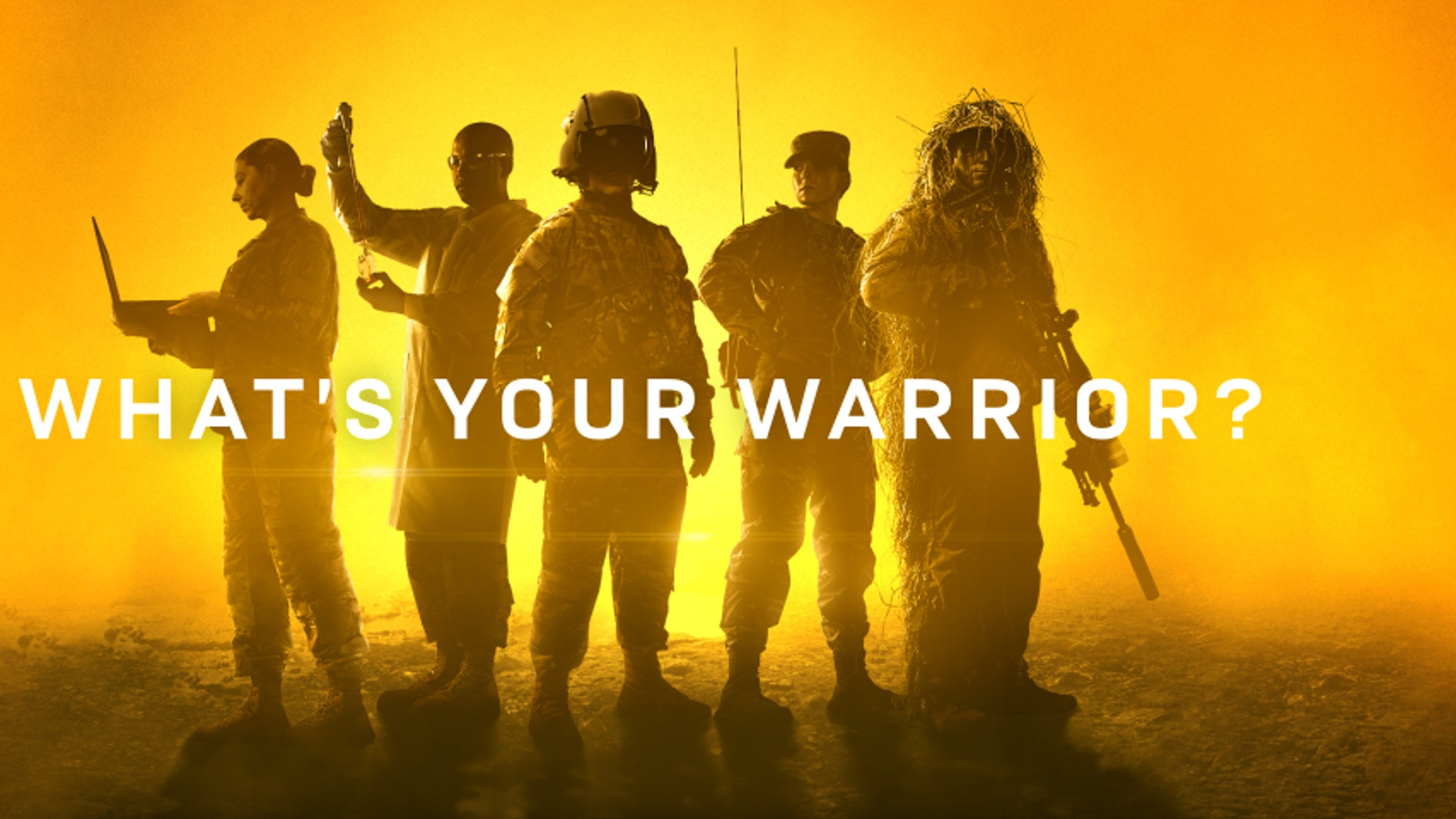 'What's Your Warrior' debate graphic.