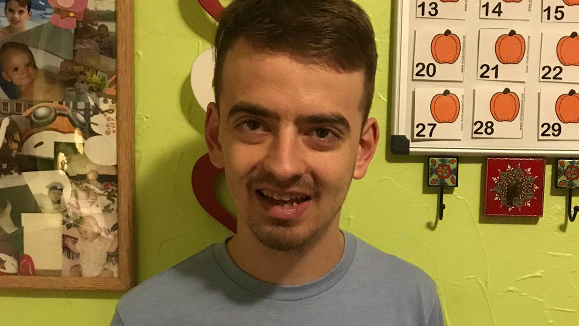 """Kerry Bloch's 21-year-old autistic son, David, receives a ton of support online after asking, """"Would someone like me?"""" (Photo: Courtesy of Kerry Bloch)"""