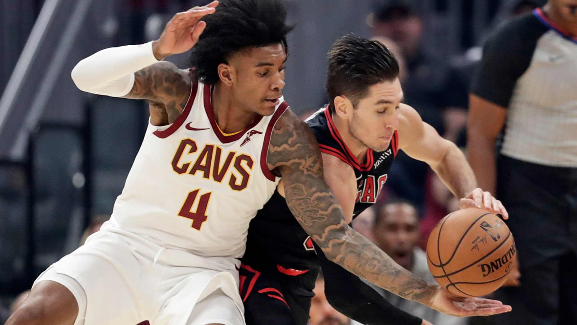 Cavs rookie Kevin Porter Jr. suspended for improper contact with official
