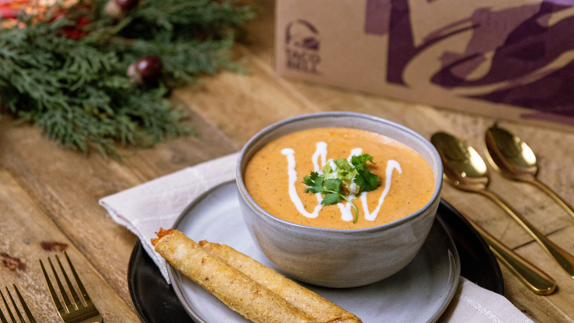 Taco Bell has released a new party pack and, naturally, a new recipe for bisque just in time for the holidays.