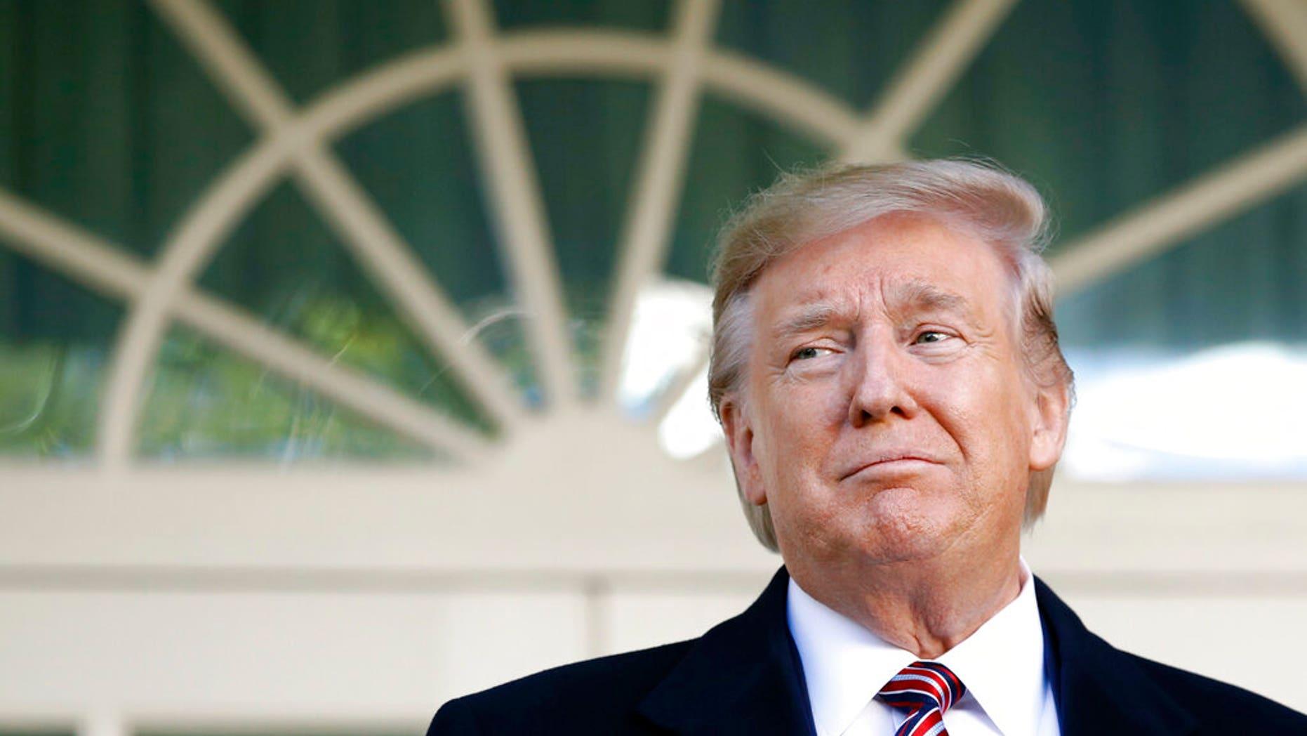 President Donald Trump (AP Photo/Patrick Semansky)