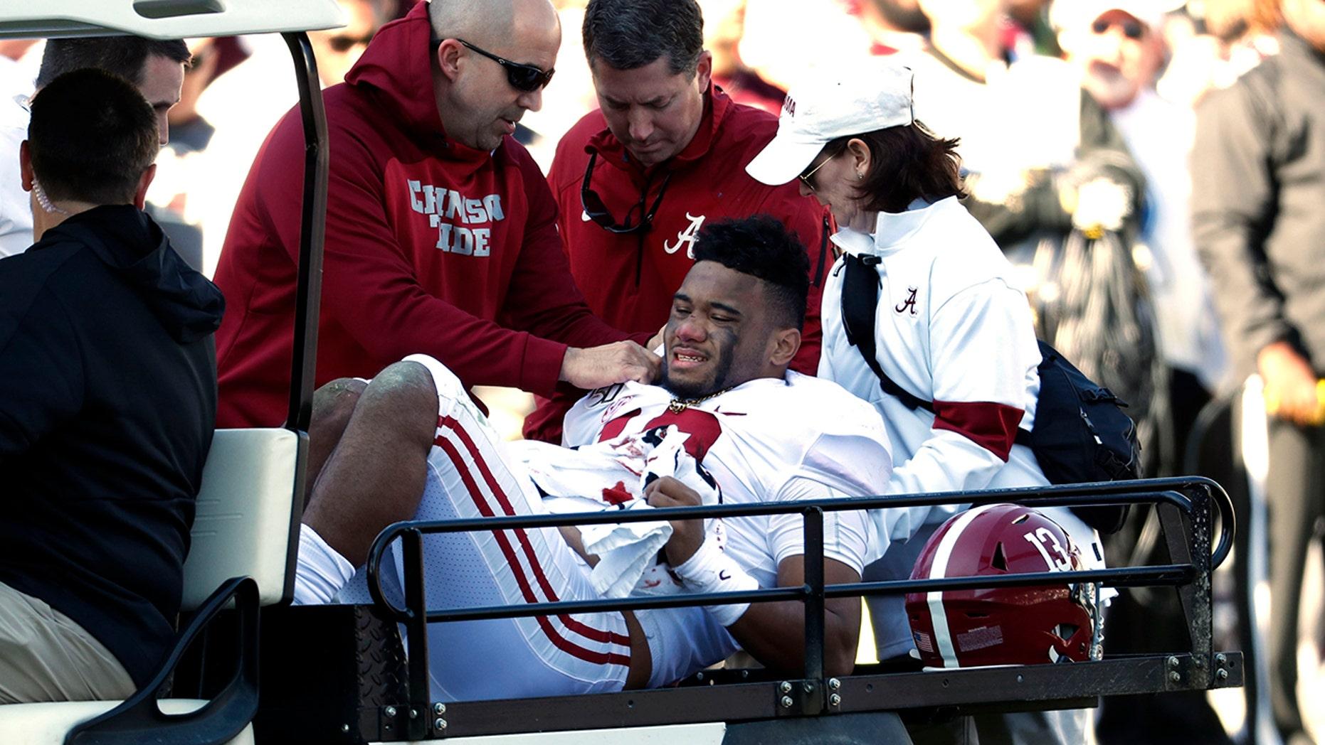 Westlake Legal Group Tua-Tagovailoa2 Alabama star Tua Tagovailoa set for hip surgery in Houston fox-news/sports/ncaa/alabama-crimson-tide fox-news/sports/ncaa-fb fox-news/sports/ncaa fnc/sports fnc Associated Press article 475eef15-9bf7-5a63-bd77-56f32d8f5b23