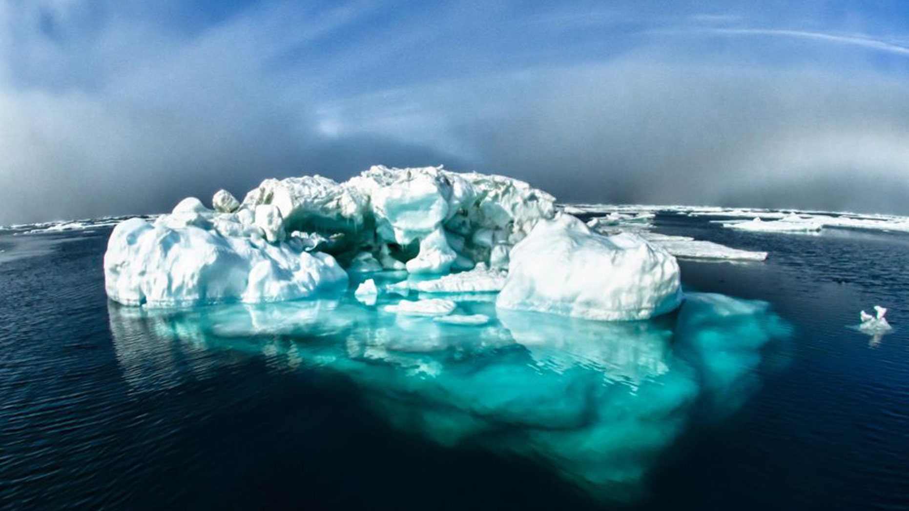 The most substantial deposits of Arctic sea ice are swiftly disappearing. (Credit: NOAA)