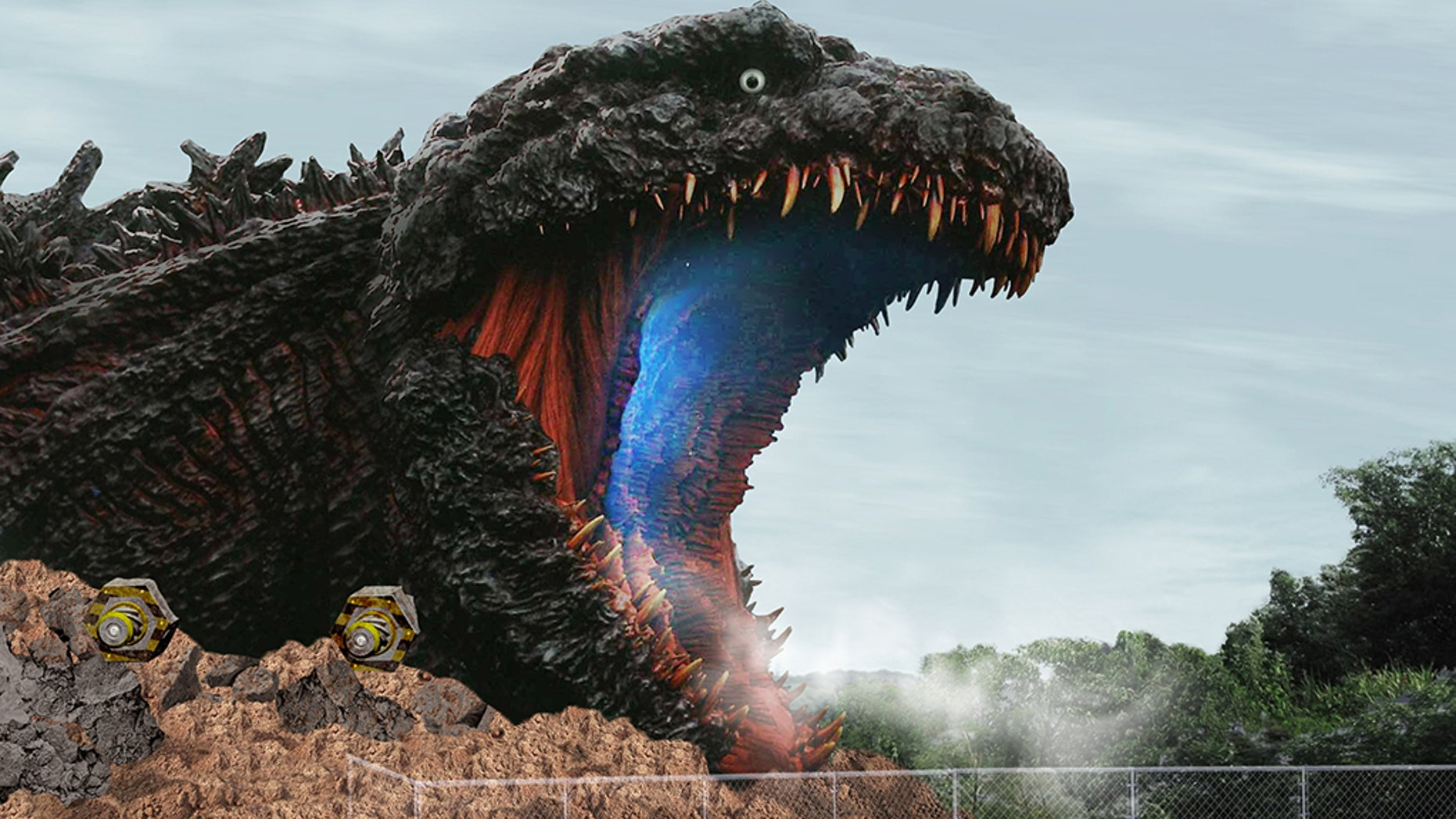 """et to debut in 2020, the Godzilla area — to be called """"Godzilla Interception Operation Awaji,"""" per the park's website — will feature a zip line that will """"rush into the body of Godzilla"""" as well as shooting galleries for allowing guests to take aim at Godzilla's radioactive cells."""