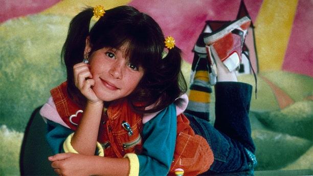 """Soleil Moon Frye as Penelope """"Punky"""" Brewster."""