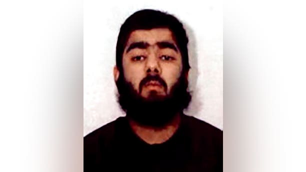 This undated photo provided by West Midlands Police shows Usman Khan. UK counterterrorism police are searching for clues into an attack that left two people dead and three injured near London Bridge. Police said Saturday, Nov. 30, 2019, Khan, who was imprisoned six years for terrorism offenses before his release last year stabbed several people in London on Friday, Nov. 29, before being tackled by members of the public and shot dead by officers.