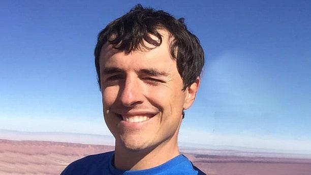 Brad Gobright, 31, fell roughly 1,000 feet to his death while descending the steep cliff face called Sendero Luminoso in El Portero Chico, while his companion, fellow climber Aidan Jacobson, 26, survived after falling a shorter distanceinto a bush.