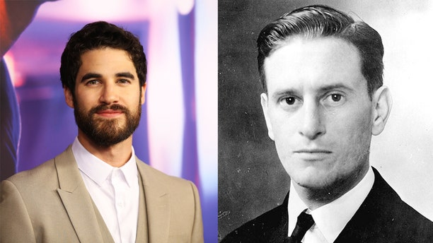 Darren Criss and Lieutenant Commander Eugene E. Lindsey