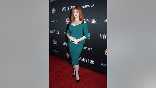 Christina Hendricks in Los Angeles on Nov. 11, 2019. (Photo by: Evans Vestal Ward/NBC/NBCU Photo Bank via Getty Images)
