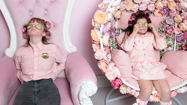 """""""The school mums tend to laugh when they hear about our beauty regimes, but I just joke and tell them we are fabulous,"""" Skidmore joked."""