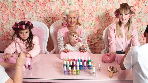 """One glamorous mom in the U.K. doesn't mind spending big at the beauty salon each month to ensure that she and her three daughters can feel like their most """"fabulous"""" selves."""