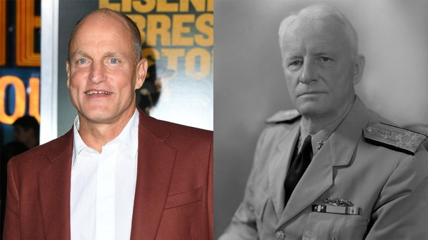 Woody Harrelson and Admiral Chester Nimitz ​​​​​​