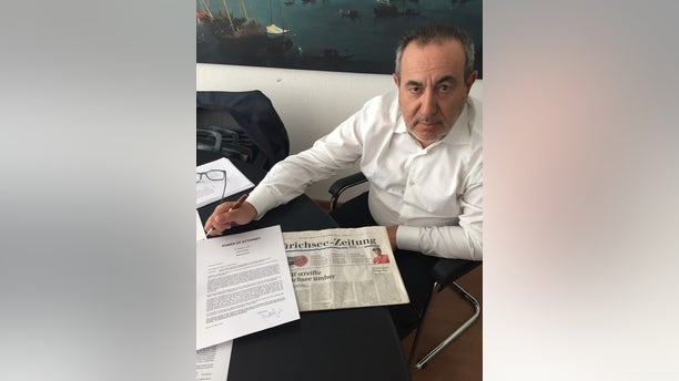 The last known image taken of Joseph Mifsud in May, 2018 in Zurich, Switzerland