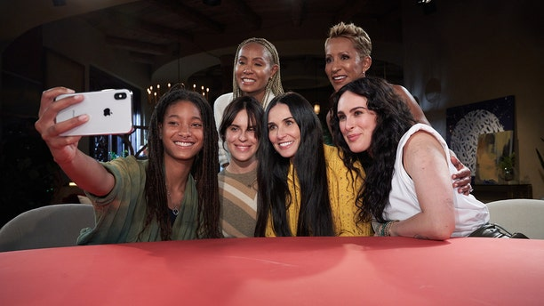 Demi Moore opened up about her sobriety on 'Red Table Talk.'
