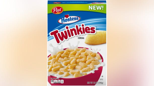Post's announcement of Twinkies Cereal hitting Walmart shelves drew mixed reactions on social media. (Photo: Courtesy of Walmart)