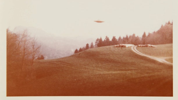 """The image used to create the famous """"I Want to Believe"""" poster featured in the first three seasons of """"The X-Files."""""""