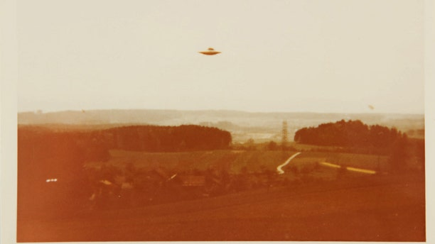 """Another image, part of a group of four vintage chromogenic prints, that was used in the trailer for for the 2016 reboot of """"The X-Files."""" (Courtesy Sotheby's)"""