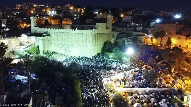On Friday, an annual gathering of thousands of Jewish people in the West Bank city of Hebron took on a special meaning, officials said.