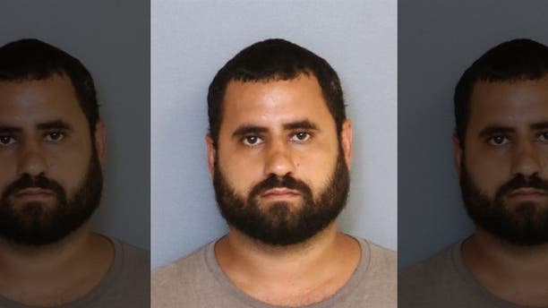 Montalvo's estranged husband (pictured) and the father of their son, Christopher Otero-Rivera, 31, and his father Angel Luis Rivera, 63, are suspects in Montalvo's murder.