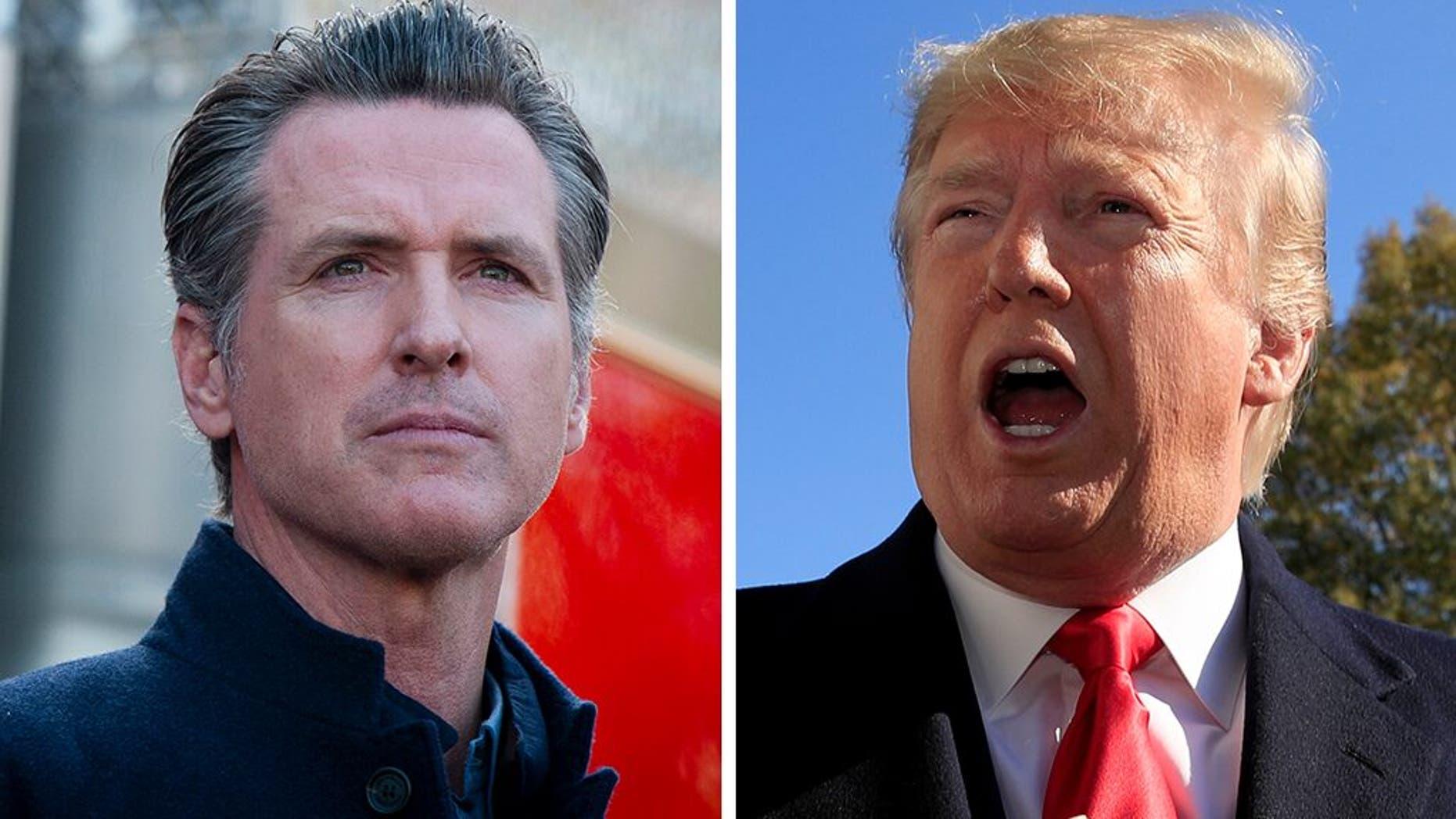 Westlake Legal Group 0dfb02fd-Trump-Newsome_AP Trump warns California: Fix homeless crisis – or feds will step in fox-news/columns/fox-news-first fox news fnc/us fnc article 84dd37bd-31bd-5be4-a092-c004595e5353