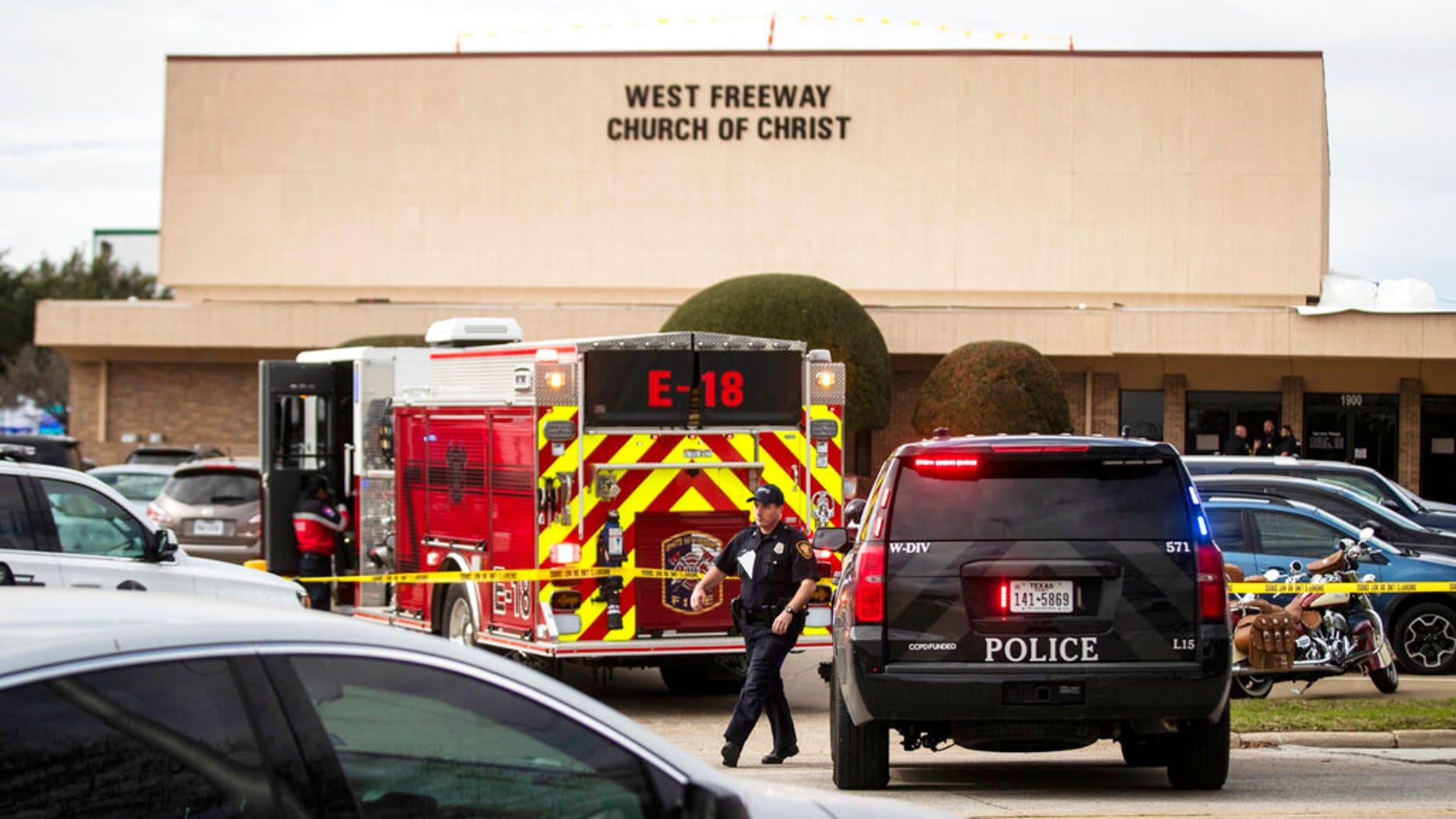 Westlake Legal Group AP19364053768672 Gunman opens fire in Texas church, killing 2; 'heroic' parishioners take down shooter fox-news/columns/fox-news-first fox news fnc/us fnc article 30ec8f12-7169-5f17-b4be-3c688b589028