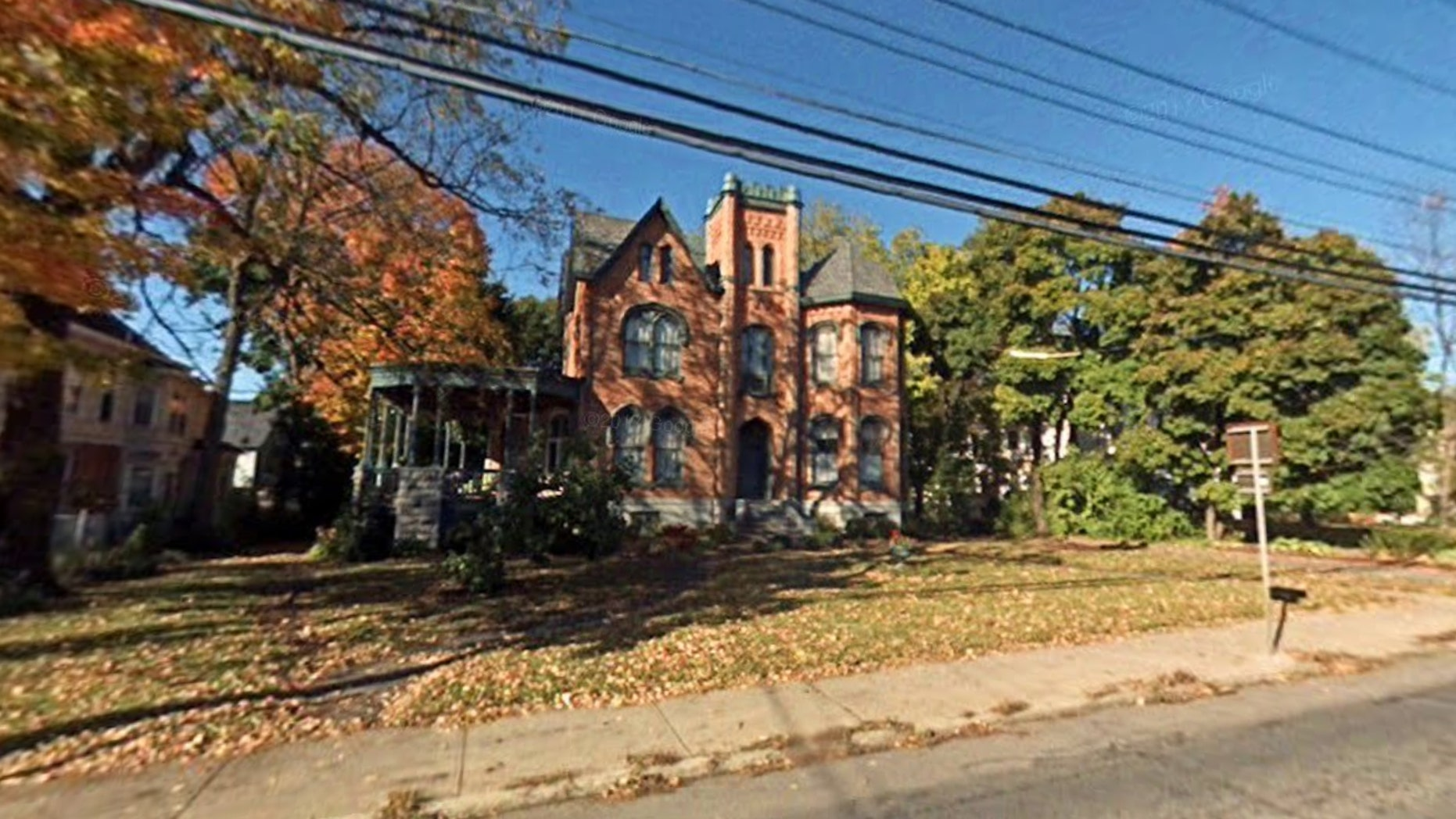 The home, located at 113 North St. in Auburn, N.Y., is currently at the center of a contest to find out which bidder might have the best restoration plan.