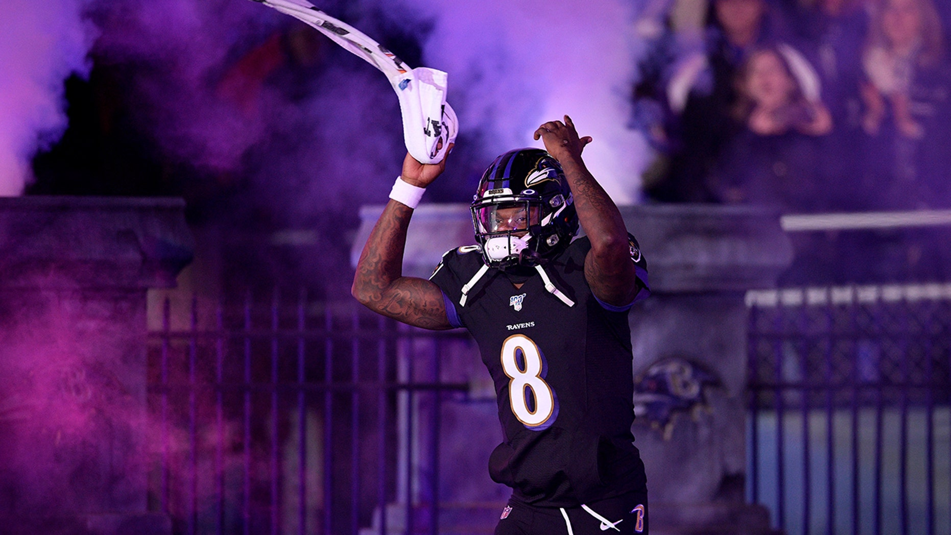 Westlake Legal Group Lamar-Jackson4 Baltimore Ravens tie Pro Bowl record with 12 selections fox-news/sports/nfl/tampa-bay-buccaneers fox-news/sports/nfl/seattle-seahawks fox-news/sports/nfl/san-francisco-49ers fox-news/sports/nfl/new-york-giants fox-news/sports/nfl/new-orleans-saints fox-news/sports/nfl/new-england-patriots fox-news/sports/nfl/miami-dolphins fox-news/sports/nfl/los-angeles-rams fox-news/sports/nfl/kansas-city-chiefs fox-news/sports/nfl/houston-texans fox-news/sports/nfl/green-bay-packers fox-news/sports/nfl/buffalo-bills fox-news/sports/nfl/baltimore-ravens fox-news/sports/nfl fox-news/person/patrick-mahomes fox-news/person/lamar-jackson fox-news/person/drew-brees fox-news/person/deshaun-watson fox-news/person/aaron-rodgers fnc/sports fnc Associated Press article 00ca50ee-8942-5a98-be73-4784097c2eee