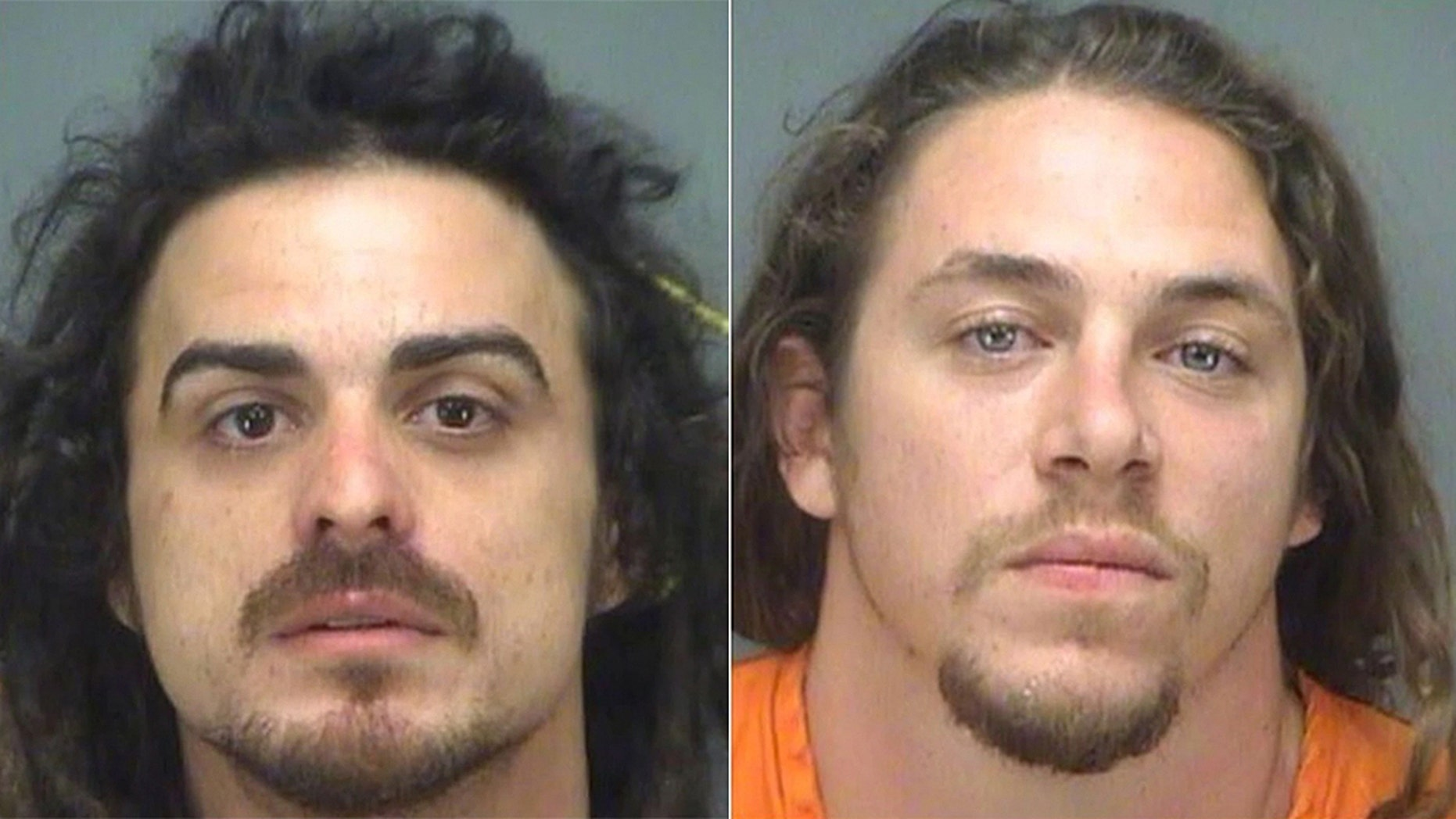Shay Morgan Tracy, 28, of St. Petersburg and Alex Anthony Laky, 27, of Hudson, were arrested on criminal mischief charges after being accused of climbing the city of Largo's 35-foot Christmas tree in Florida.