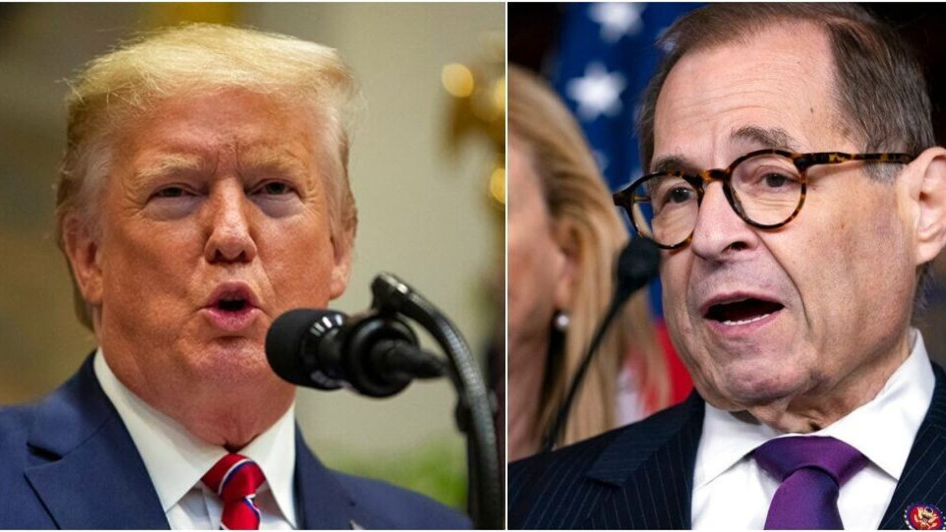 Westlake Legal Group TrumpNadler121619 House Judiciary Committee calls for Trump's removal in 658-page impeachment report; fox-news/columns/fox-news-first fox news fnc/us fnc article 762fa7fd-fa21-50a6-bf03-5adc2efd826d