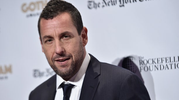 Adam Sandler responded to co-star Jennifer Aniston's shout out at the 2020 SAG Awards.