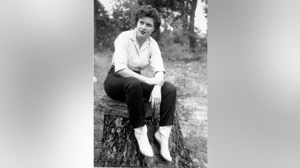 Undated photo of Patsy Cline.