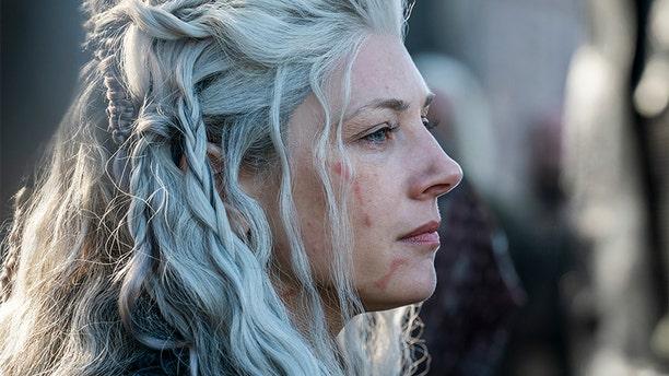 """Katheryn Winnick makes her directorial debut in """"Vikings."""""""