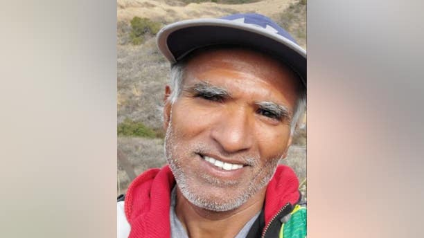 Sree Mokkapati, 52, of Irvine, Calif., has been missing since Dec. 8, authorities say. (San Bernardino County Sheriff's Department)