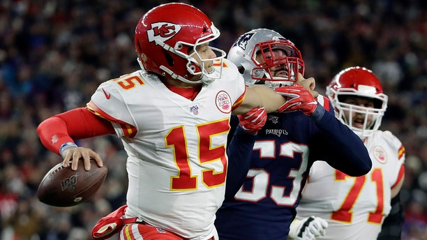 Mahomes and the Chiefs fell short of the Super Bowl last year. (AP Photo/Elise Amendola)